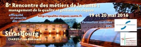 8ème rencontre des métiers de la santé à Strasbourg