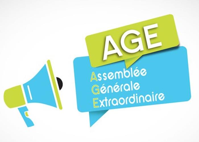 Assemblée Générale Extraordinaire : Modification des statuts !