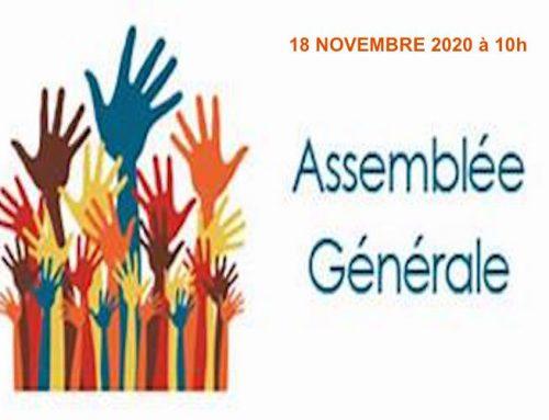 Assemblée Générale du CFAR : Le 18 novembre 2020 en visioconférence !