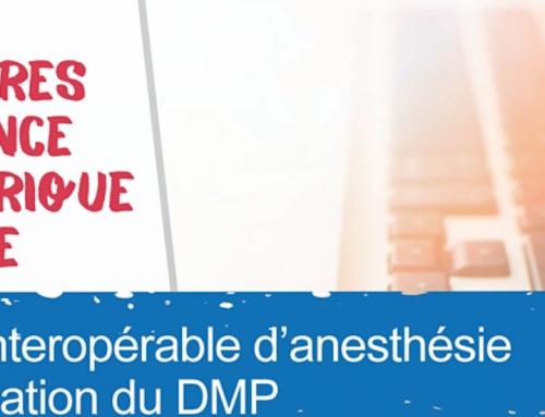 """Webinaire ANS """"Volet interopérable d'anesthésie réanimation du DMP"""" – 10 décembre 2020"""